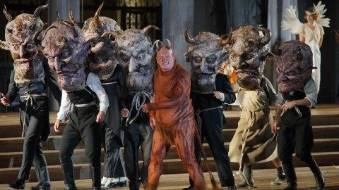 This Weekend at Salzburg:  'Opera for Children' and Hugo Von Hofmannsthal's Ledermann play before sold-out crowds