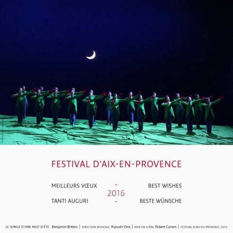 Aix-en-Provence : Festival d'Aix en Provence — 30 Jun-19 Jul