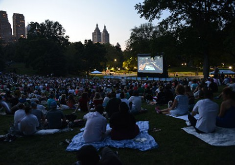 Free Film Festival Central Park New York