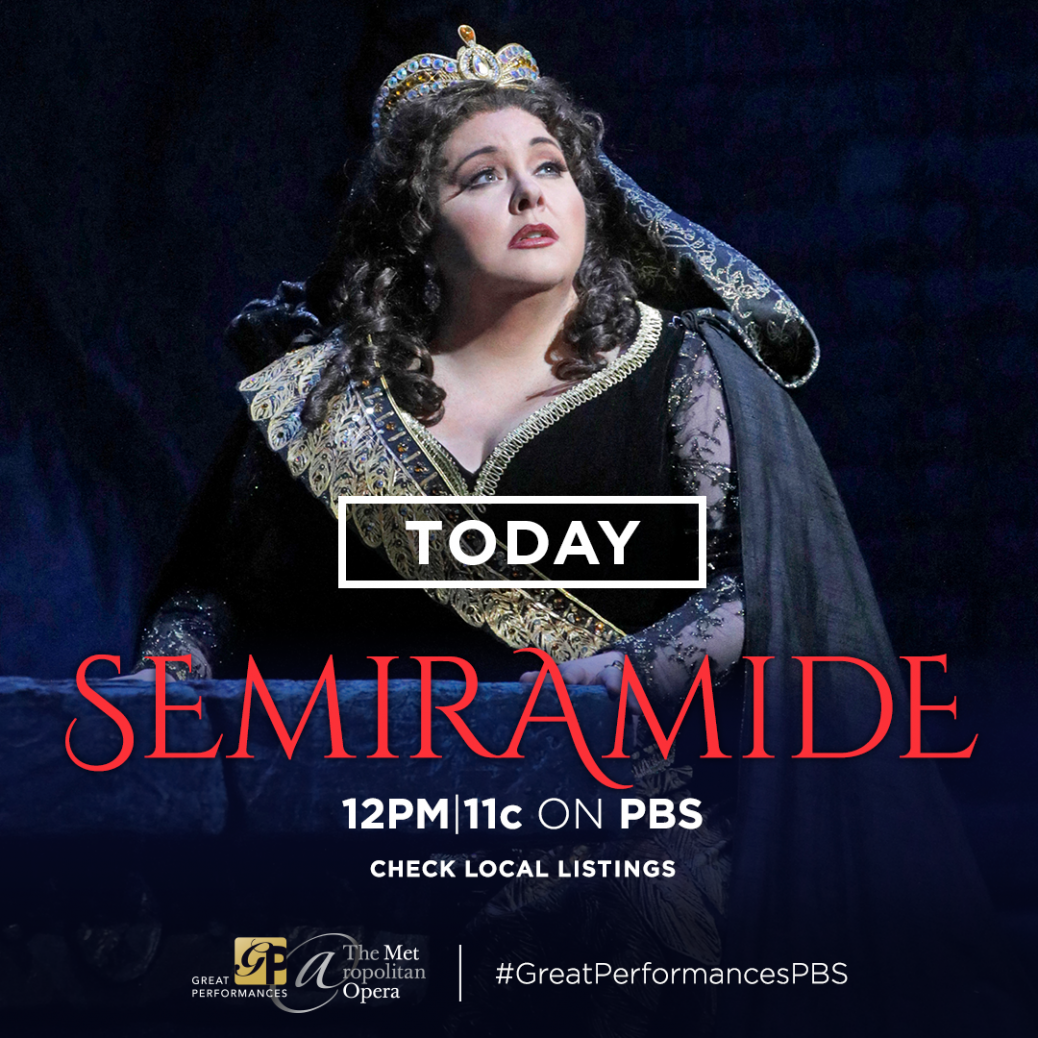 Met Opera Semiramide PBS July 8