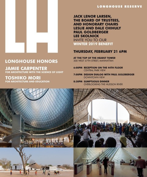 LONGHOUSE WINTER 2019 BENEFIT FEBRUARY 21 NEW YORK