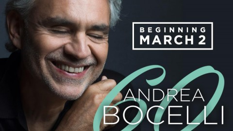 PBS Free Broadcasting  Celebration Joni 75, Andrea Bocelli 60