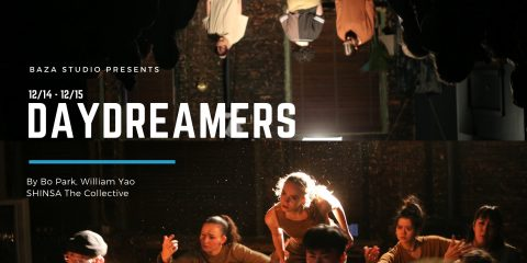"""Daydreamers"" Bo Park & William Yao immersive dance show. Baza Studio New York December 14  – January 12."