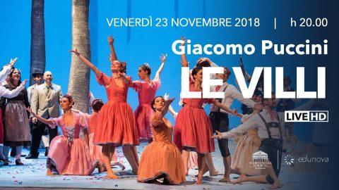 FREE Stream LE VILLI Puccini Teatro Comunale