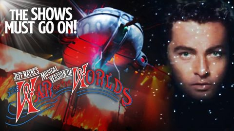 Free Stream Staring Richard Burton at The War of The Worlds. Jeff Wayne's Musical Version/Fundraiser. Available till January 5th. Show Must Go On!