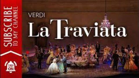 FREE Stream: La Traviata Opera | Grand Opera | Teatro Real, Madrid