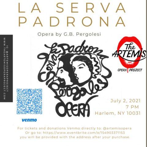 La Serva Padrona Artemis Opera New York July 2